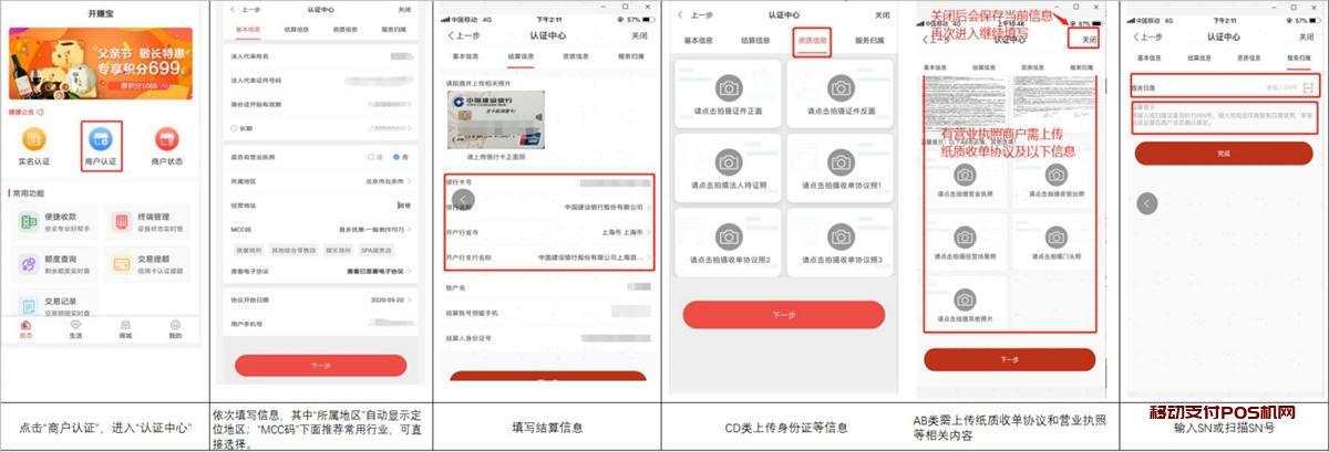 开赚宝POS机用户使用操作流程手册_2020电签